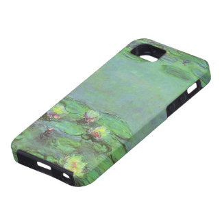 Vintage Floral Impressionism, Waterlilies by Monet iPhone 5 Cases