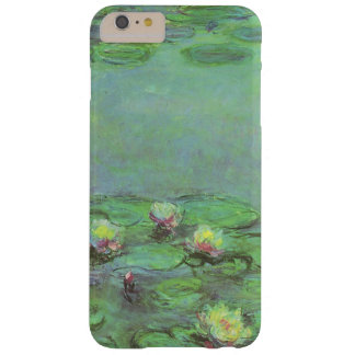Vintage Floral Impressionism, Waterlilies by Monet Barely There iPhone 6 Plus Case