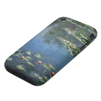 Vintage Floral Impressionism, Waterlilies by Monet Tough iPhone 3 Case