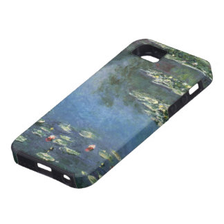 Vintage Floral Impressionism, Waterlilies by Monet iPhone 5 Cover