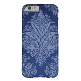 Vintage Floral in Shades of Blue Barely There iPhone 6 Case