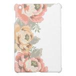 Vintage floral iPad mini cárcasa
