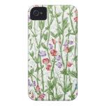 Vintage Floral Iphone 4/4S Case iPhone 4 Case-Mate Case