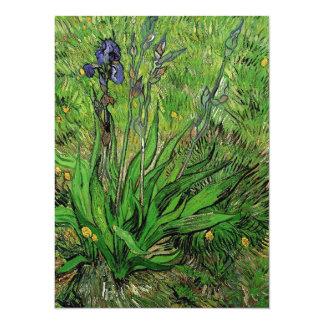 Vintage floral Iris by Vincent van Gogh Card