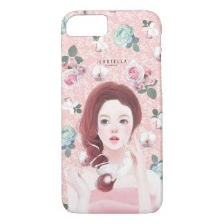 Vintage floral Jennie iPhone 7 case