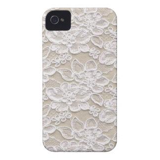 Vintage Floral Lace iPhone 4 Cases