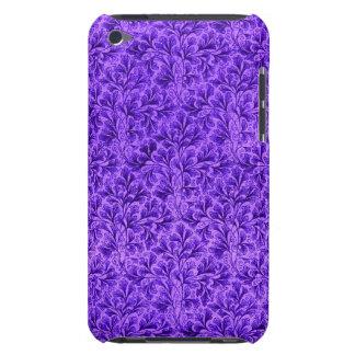 Vintage Floral Lace Leaf Amethyst Purple iPod Case-Mate Case