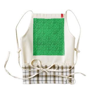 Vintage Floral Lace Leaf Mint Shamrock Green Zazzle HEART Apron