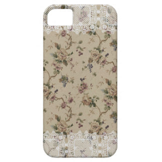 Vintage Floral Lacy Lady iPhone 5 Case