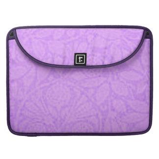 Vintage Floral Lavender Macbook Pro Flap Sleeve MacBook Pro Sleeve