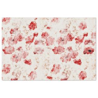 vintage floral LEA (I) Tissue Paper
