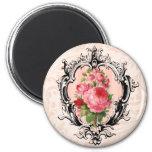 Vintage Floral Magnet