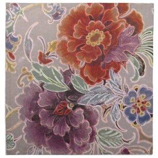 Vintage Floral mojo_napkin