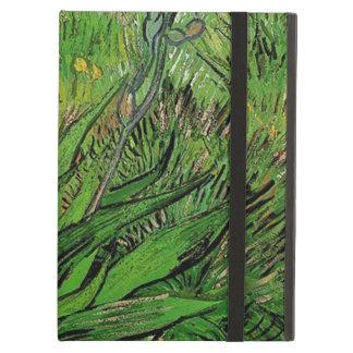 Vintage floral oil painting, Van Gogh Iris Case For iPad Air