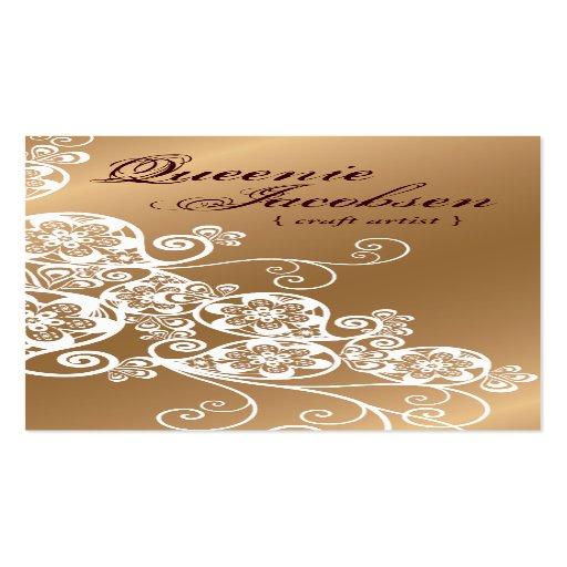 Art Deco Boho Chic Elegant Business Card Template