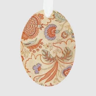 Vintage floral paisley chic damask pattern ornament
