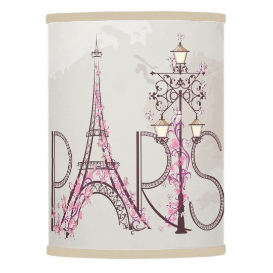 Vintage floral paris eiffel tower lamp shade zazzle vintage floral paris eiffel tower lamp shade aloadofball Image collections