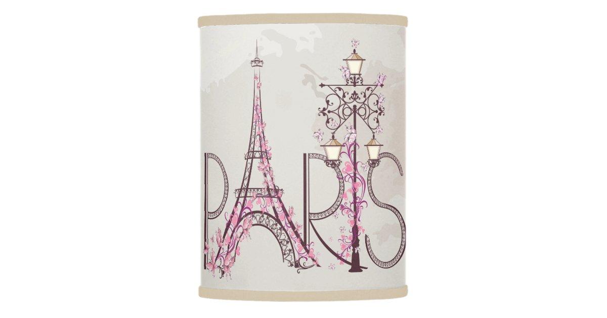 Golf R Dcc >> Vintage Floral Paris Eiffel Tower Lamp Shade | Zazzle.com