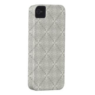 Vintage floral Paris Lace style v5 Case-Mate iPhone 4 Case
