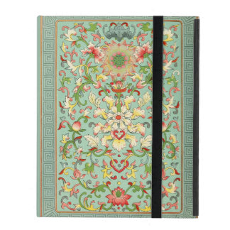 Vintage Floral Passion Flower iPad Covers