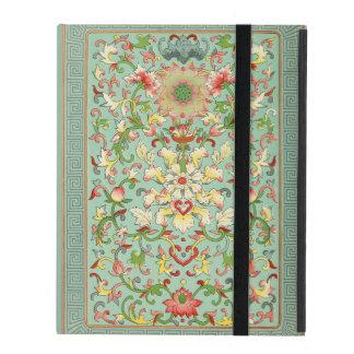 Vintage Floral Passion Flower iPad Folio Case