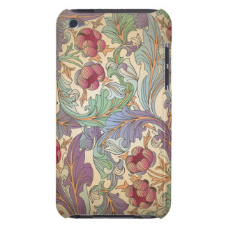 Vintage Floral Pattern - 7 Barely There iPod Covers