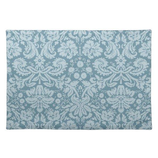 Vintage floral pattern art nouveau cloth placemat