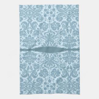 Vintage floral pattern art nouveau hand towels