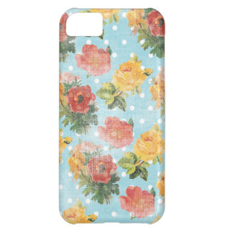 Vintage Floral Pattern iPhone 5C Cover