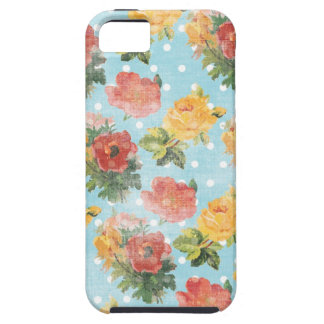 Vintage Floral Pattern iPhone 5 Cover