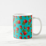 Vintage Floral Pattern Classic White Coffee Mug