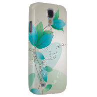 Vintage Floral Pattern Galaxy S4 Covers