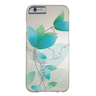 Vintage Floral Pattern iPhone 6 Case