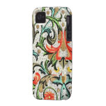 Vintage Floral Pattern iPhone iPhone 4/4S Cover