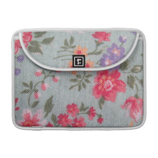 Vintage Floral Pattern MacBook Pro Sleeve
