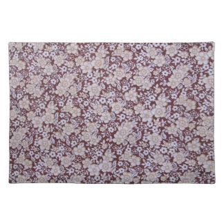 Vintage Floral Pattern Placemat
