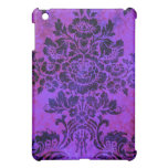 Vintage Floral Pattern Purple PInk Blue Cover For The iPad Mini