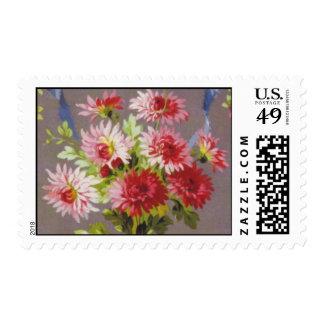 Vintage Floral Postage
