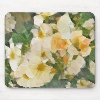 Vintage Floral Prism Mouse Pad