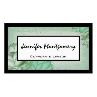 Vintage Floral Professional Business Card