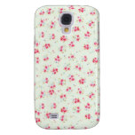 Vintage floral roses pink shabby chic rose flowers galaxy s4 covers