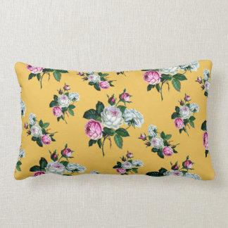 Roses Floral Print Pillows - Decorative & Throw Pillows Zazzle