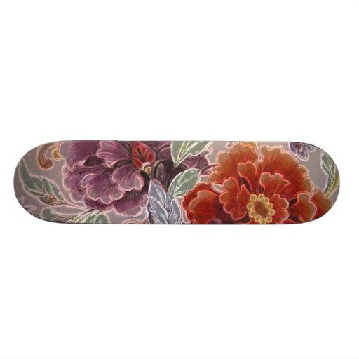Vintage Floral Skateboards