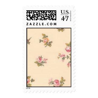 Vintage Floral Stamp