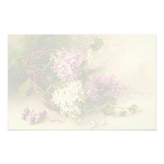 Vintage Floral Stationery