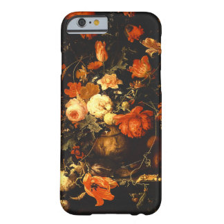 Vintage Floral Still Life - Abraham Mignon Barely There iPhone 6 Case