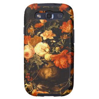Vintage Floral Still Life - Abraham Mignon Galaxy SIII Case