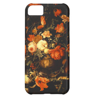 Vintage Floral Still Life - Abraham Mignon Cover For iPhone 5C