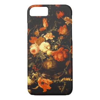 Vintage Floral Still Life - Abraham Mignon iPhone 8/7 Case
