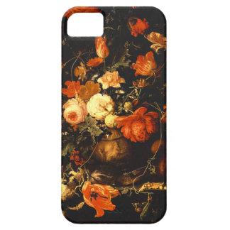 Vintage Floral Still Life - Abraham Mignon iPhone SE/5/5s Case